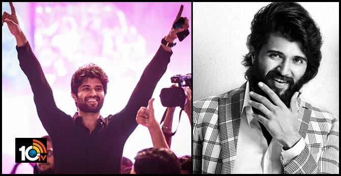 Vijay Deverakonda - First South Indian Actor to Have Six Million Followers in Instagram