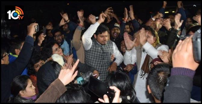 Former JNU Students Union leader Kanhaiya Kumar injured