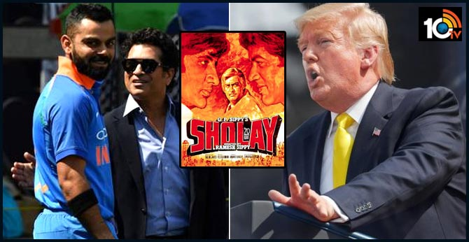 From DDLJ to Sachin: Key quotes of Donald Trump at Motera Stadium