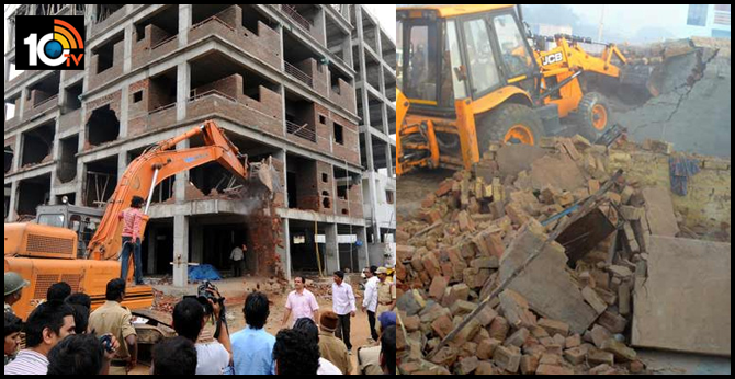 GHMC ready to demolish completely illegal structures in Hyderabad