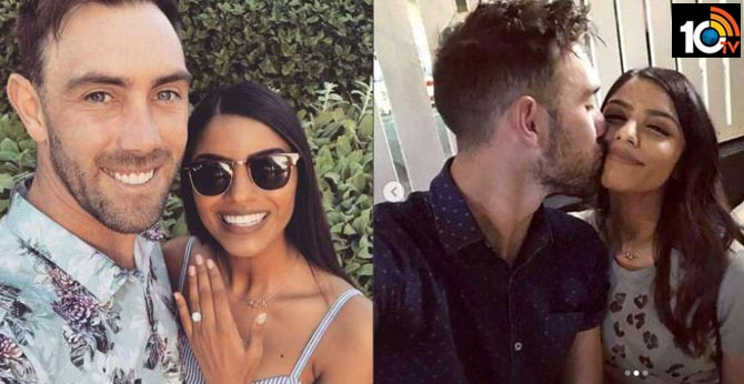 Glenn Maxwell Announces Engagement To Indian-Origin Girlfriend