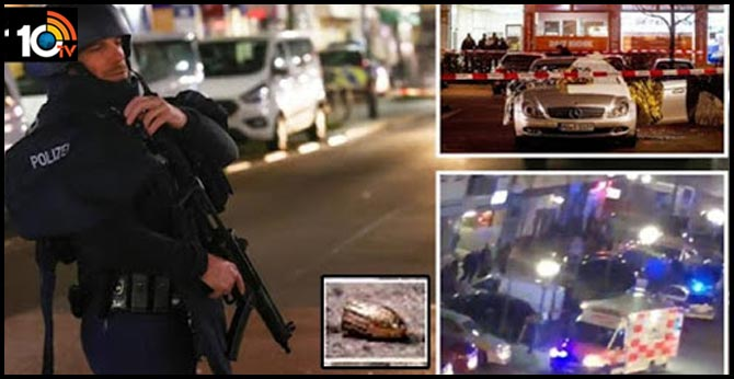 Hanau Maniac fireing..Nine people were killed in attacks in Shisha lounges in Germany