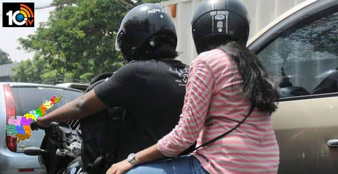 Helmet for pillion riders to be made mandatory in Vizag