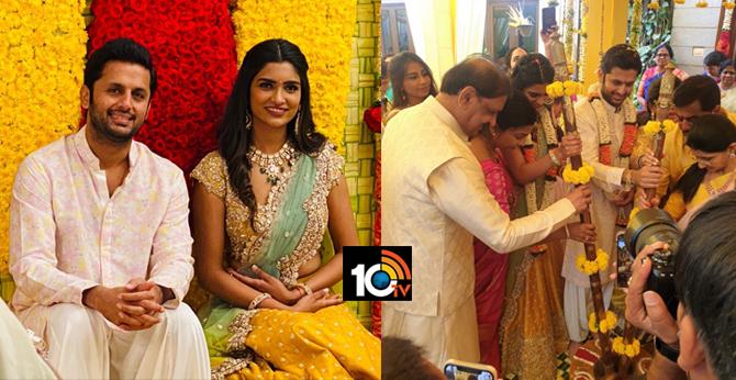 Hero Nitin Engaged with Shalini