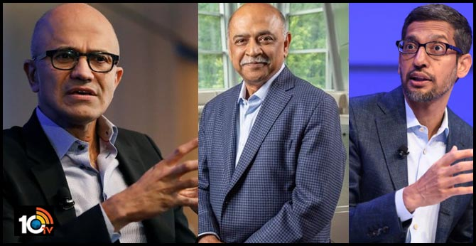 Indian-origin CEOs of top tech companies