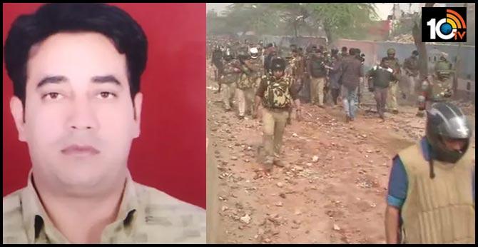 Intelligence Bureau officer Ankit Sharma 26 killed