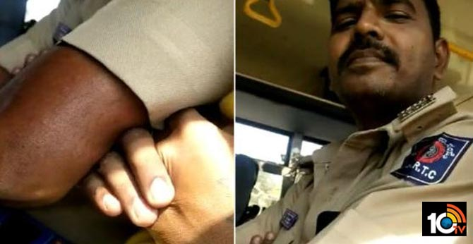 KSRTC Bus Conductor Misbehaving With Women
