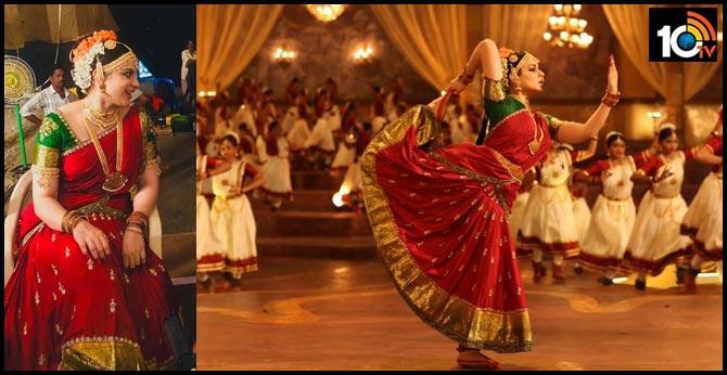 Kangana Ranaut as Bharatnatyam Dancer in Thalaivi