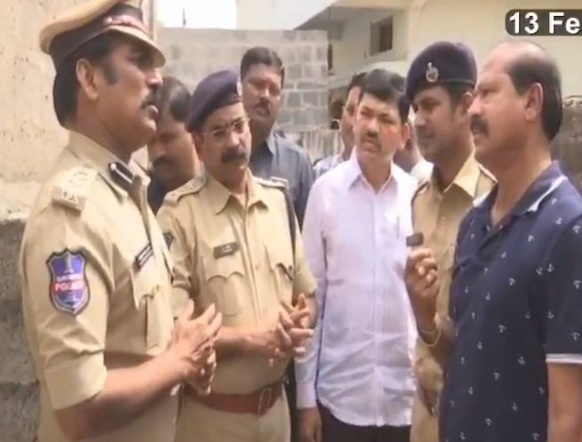 Karimnagar Radhika case No leave for police CP Kamalasan Reddy