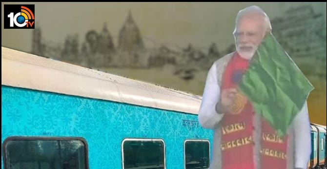 Kashi Mahakal Express: PM Modi flags off India's 3rd private superfast fully air-conditioned train