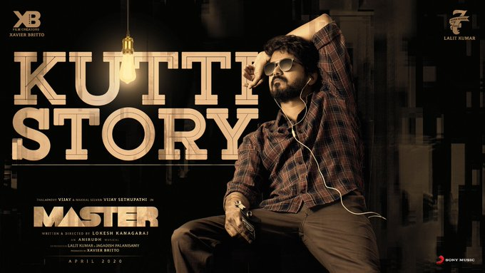 Master - Kutti Story Lyrical song