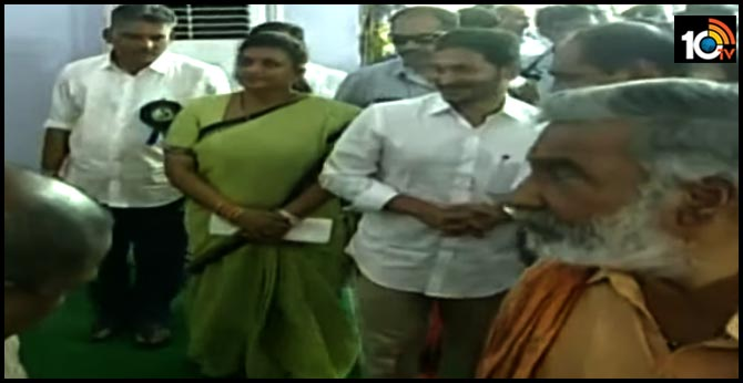 MLA Roja troubles from own Party leaders over Peddireddy dispute in her Constituency
