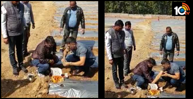 Mahendra Singh Dhoni tries his hands at farming in Ranchi, grows organic watermelon and papaya