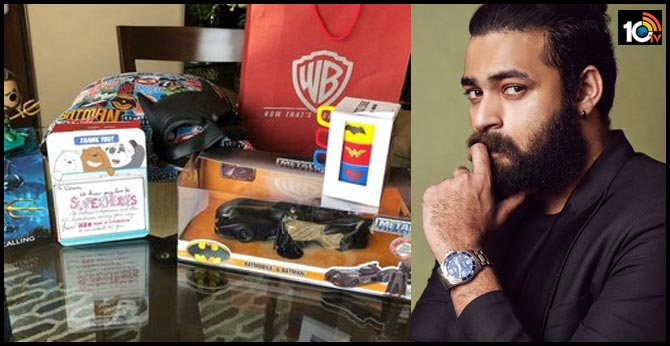 Mega Prince Vrun Tej Gets Official Merchandise From HBO Ardent Super Hero Lover