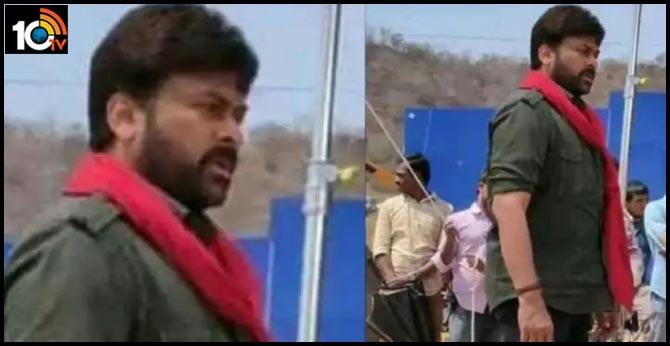 Megastar Chiranjeevi Look Goes Viral