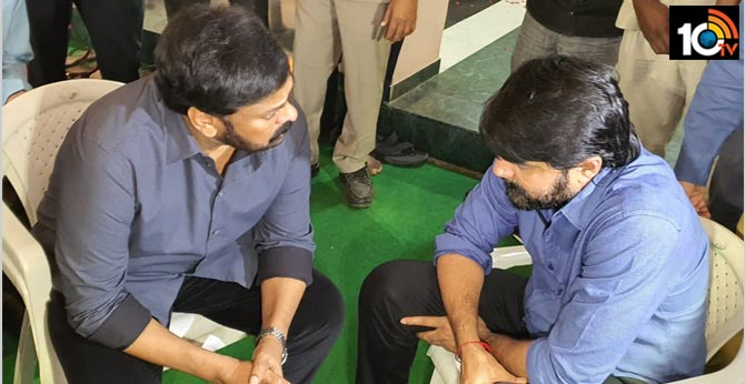 Megastar Chiranjeevi Condolence to Actor Srikanth's Father
