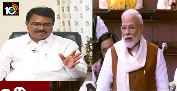 Minister Niranjan Reddy fires on PM Modi's comments