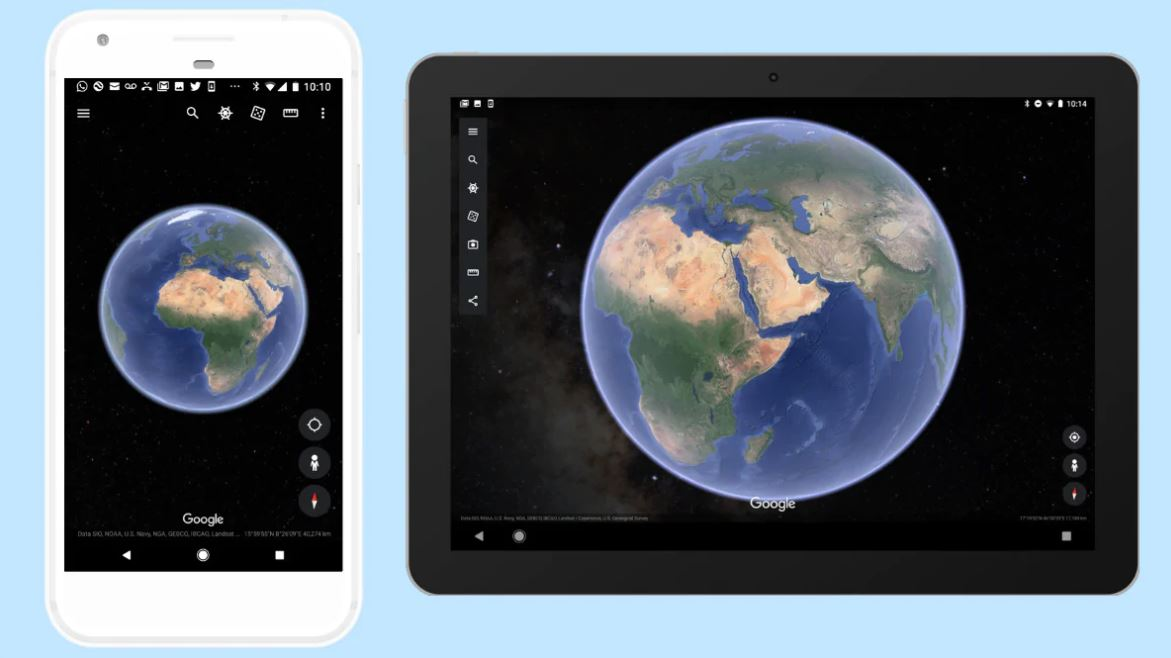 Google Earth App Now Lets You Stargaze on Your Mobile Device