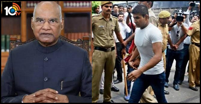 NIrbhaya case.. president ramnath kovind rejects Vinay sharma mercy petition