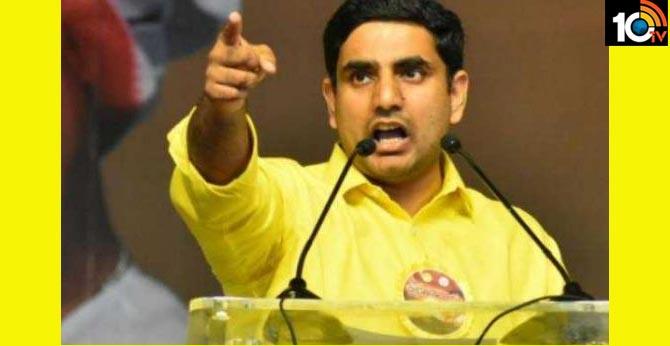 Nara Lokesh's reaction to TDP activist's Vijaykumar Reddy arrest
