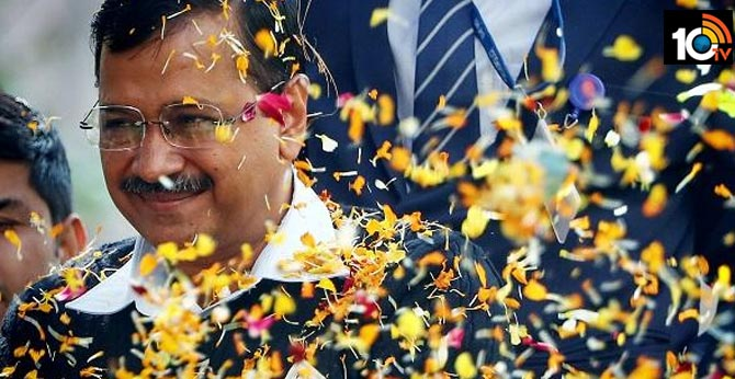 New tradition: Arvind Kejriwal Swearing In Ceremony In Public