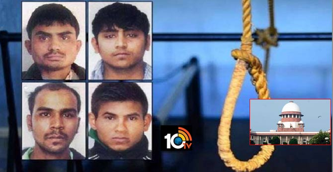Nirbhaya Case: SC to hear today Centre's plea against challenging HC verdict on hanging of convicts