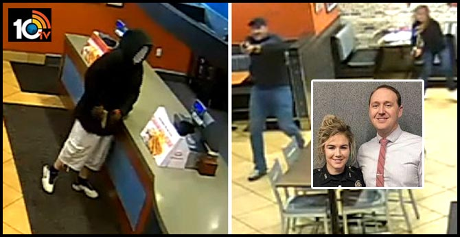 Off-duty cop couple on a date prevent armed robbery at restaurant