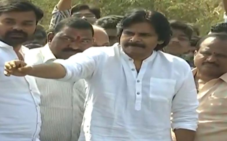 Janasena Chief Pawan Kalyan Kurnool Tour Public issue must be addressed