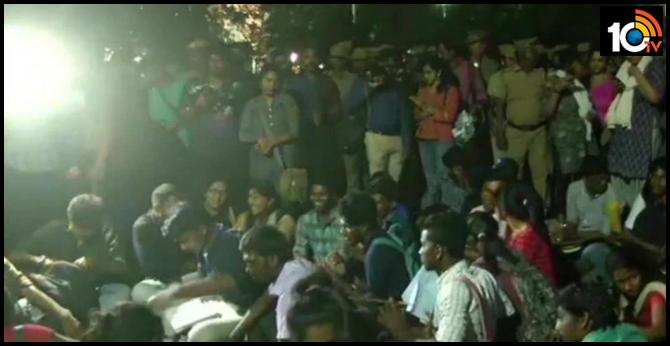 Protests against NRC in Tamil Nadu