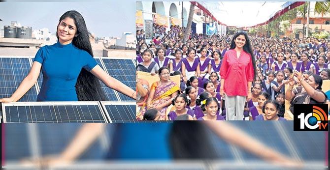 Pusapati Dynasty girl sanchayatha focus on Girls' Literacy