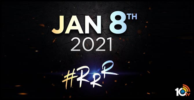 RRR will hit the screens on January 8th, 2021