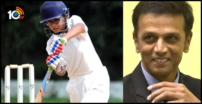 Rahul Dravid's son Samit another doubel hundred