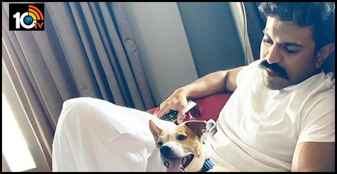 Ram Charan Chilling Out With Brat