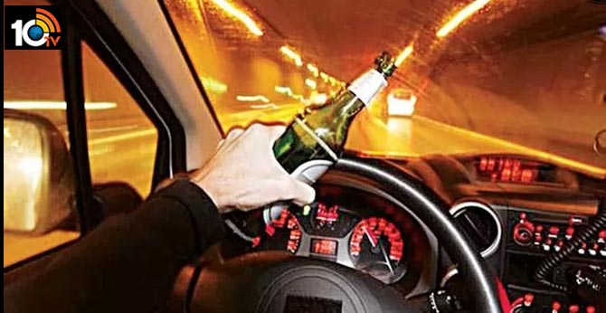Rs. 2.25 crore Drink and Drive Fine: Drunk Driving Penalty in Hyderabad