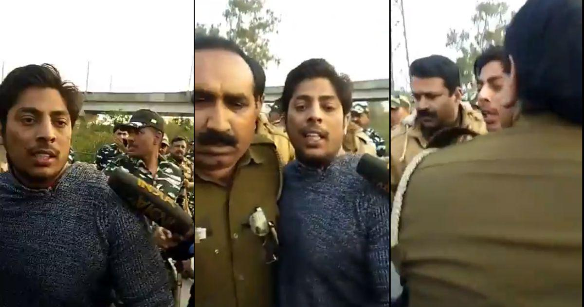 Man Who Opened Fire At Delhi's Shaheen Bagh Is An AAP Member: Police