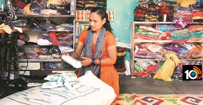SHGs get sanitary pads on app
