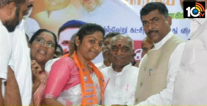 Sandalwood Smuggler Veerappan's Daughter Vidya Rani Joins BJP