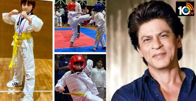Shah Rukh Khan's son AbRam wins gold medal for Taekwondo, actor says 'my kids have more awards than I have'