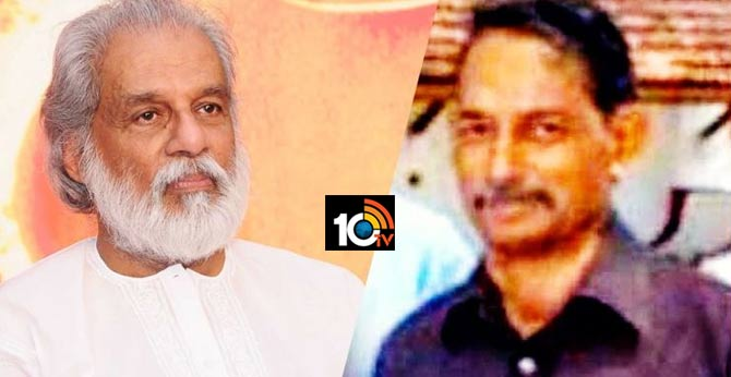 Singer Yesudas' brother found dead in Kochi backwaters