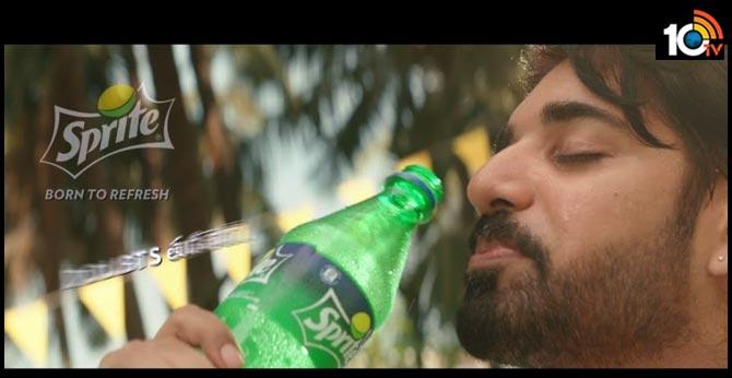 Sushanth as Sprite Brand Ambassador