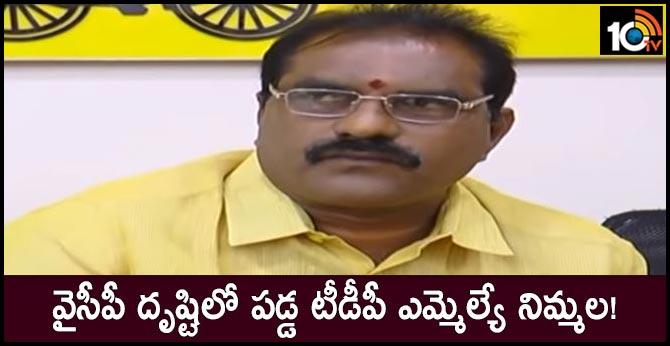 TDP MLA Nimmala Ramanayaudu to be joined in Ysrcp