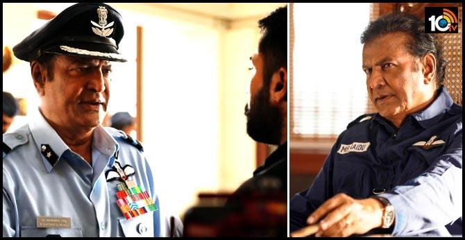Versatile Actor Mohanbabu plays Suriya's mentor in Aakaasam Nee HaddhuRa