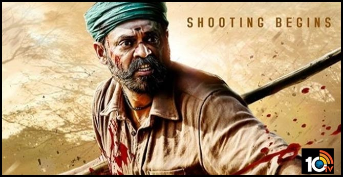 Victory Venkatesh Narappa action sequence is currently being shot in Kurumalai in Tamil Nadu