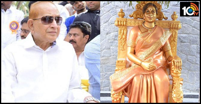 Vijaya Nirmala statue unveiled on her birth anniversary