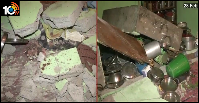 Wall collapses in hyderabad, Three childrens die