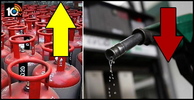 Why is LPG up when petrol is down?