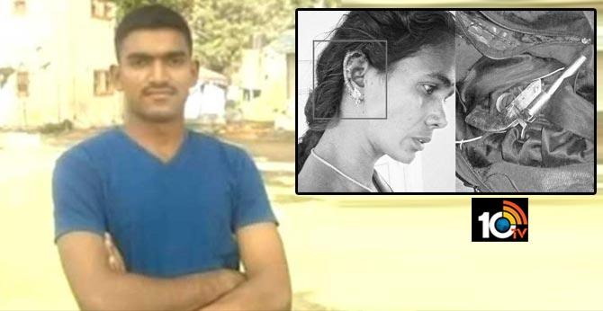 accused army ex jawan commits sucide guntur district