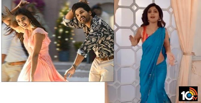 allu arjun Buttabomma dance steps got full craze across pan india