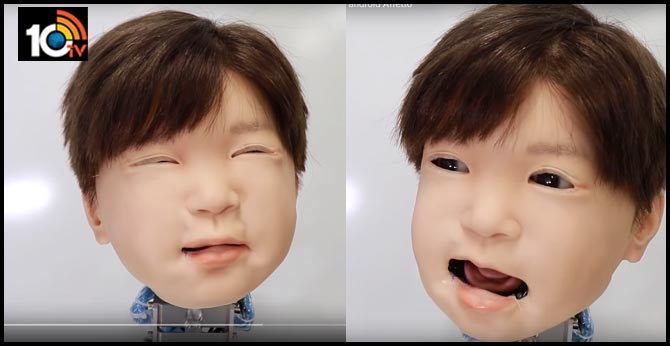 """Japanese Scientists Create A Child Robot That Can """"Feel"""" Pain"""
