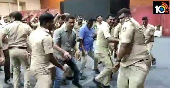 bangalore police  zumba dace..karnataka  viral video,